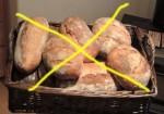 no bread today